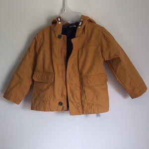 5/$25 carter's hooded jacket